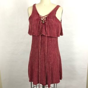 Abree Tunic Rose Color Sz S-M